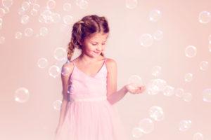 studio fotografering såpbubblor
